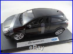 118 Welly #12563w 2005 Opel Astra GTC Noir