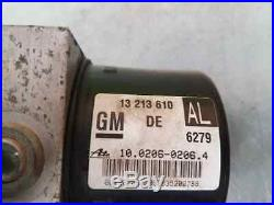 13213610 abs opel astra gtc 1.6 16v 2005 ate 3697226