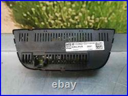13360105 commande climatisation opel astra j gtc edition 2011 delphi 3682005