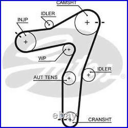 1 GATES K015663XS Set Sangles Distribution Astra GTC J SPORTS Tourer