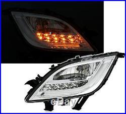 2 Optique Antibrouillard Chrome Clignotant Led Opel Astra Gtc J 2.0 Cdti 12/200