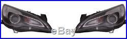 2 phares avant Opel Astra J GTC 10/2011+ (AL)