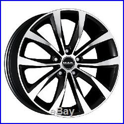 4085901 Jantes Roues Mak Wolf Black Mirror 17 7,5j 5x114,3 Opel Astra Gtc 2011