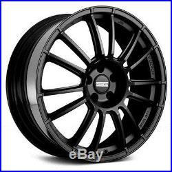 7069175 Jantes Roues Fondmetal 9rr Matt Black 18 8j 5x110 Opel Astra Gtc 20051