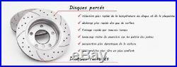 Avant Disques De Frein Gt1645 Opel Astra J Hb Sedan Estate Gtc 2012-2015 Ø276