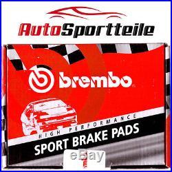 BREMBO Plaquette de freins Opel Astra J GTC Insigne OPC & Subaru WRX STI &