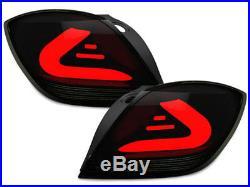 CarDNA LED wiata tylne Opel Astra H GTC WIATO LED BAR Czarny / Smoke 4983494