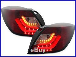 CarDNA Taillights Opel Astra H GTC LightBar Red / Smoke 5985864F XINO TUNING