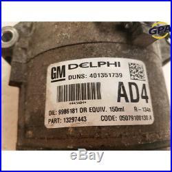 Compresseur de climatisation occasion OPEL ASTRA GTC 1.7 CDTI 16V FAP réf. 95516