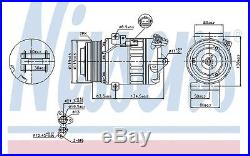 Compresseur de climatisation pour Opel Astra GTC 1.6 SIDi NISSENS 89313