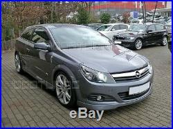 De Opel Astra H GTC / Double Top Pare-Chocs avant Becquet OPC Lèvre Mise au