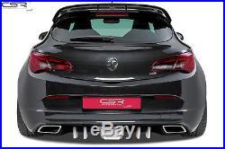 Diffuseur Arrière Jupe de Pare choc pour Opel Astra J OPC/GTC