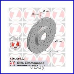 Disque de Frein Opel Astra H (L48) \ GTC (L08) \ Zafira B (A05)
