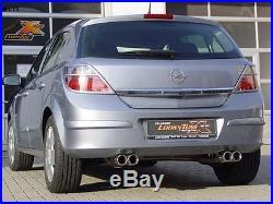 FOX pot d'échappement sport Duplex Opel Astra H + GTC je 2x76
