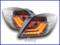 Feux arriere LED Opel Astra H GTC An. 05-07 noir