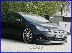 Ingo Noak Spoiler avant Approche frontale en ABS pour Opel Astra J GTC