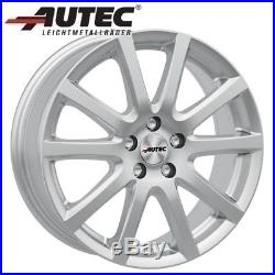 Jantes Autec SKANDIC 6.5x16 ET39 5x105 SIL pour Opel Astra Mokka