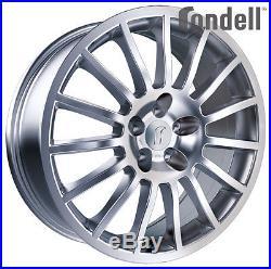 Jantes Rondell 26 7Jx17 ET37 4x100 SIL pour OPEL Adam Agila Astra Corsa Meriva T