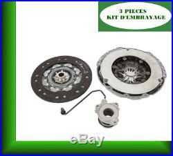 Kit D'embrayage Opel Astra H Gtc 1.9 Cdti Trois 3 Pieces 93194079