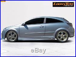 Lt GTX Jupes Latérales Opel Astra H GTC 3-türig