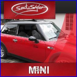 Mini Cooper S R56 Housses de sieges d'auto sur mesure effet cuir tuning