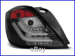 NEUF! Feux arrières pour Opel ASTRA H 2004-2009 3D GTC Noir LED FR LDOP51EI XINO
