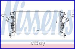 Nissens échangeur d'air (Intercooler) 96556