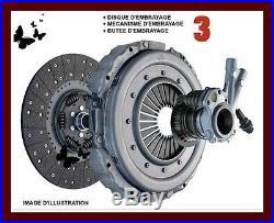 OPEL ASTRA H GTC 1.4 75 CV 90 CV KIT D'EMBRAYAGE 3 pièces REF 620309034