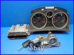 Opel Astra H 1.9 Cdti Gtc Kit Calculateur Moteur Bosch 0281012122 55198054 Al