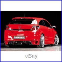 Opel Astra H Approche Poupe Pour 4-Rohr Échappement Charbon Look GTC Et Twintop