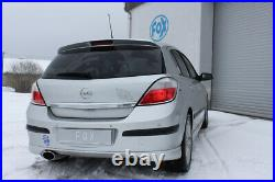 Opel Astra H Et GTC 1.6l 2.0l Turbo Fox Échappement Sport Ovale 115x85 MM