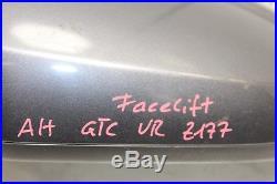 Opel Astra H GTC Facelift Rétroviseur Droit Extérieur Z177 Gris Carbone 13312933