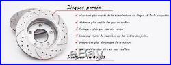 Opel Astra H Gtc 1.3 1.7 1.9 Cdti 05-10 Disques De Frein Plaquettes Gt1639 Ø280