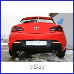Opel Astra J GTC1.6l Duplex Silencieux Sport Chaque 115x85mm Ovale de Fox