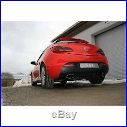 Opel Astra J GTC1.6l Duplex Silencieux Sport Chaque 160x90 mm Ovale de Fox