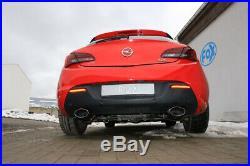 Opel Astra J GTC le Sport Échappement Duplex Chaque 160x90 MM Ovale De Fox