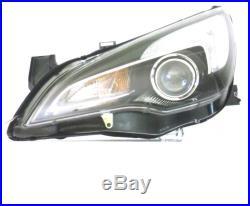 Phare Avant DX Pour Opel Astra J 2012 Jusqu'à Gtc Halogène