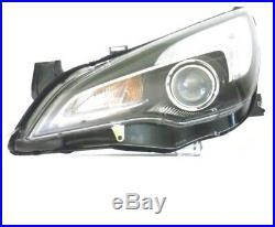Phare Avant Sx Pour Opel Astra J 2012 Jusqu'à Gtc Halogène