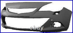 Plaque Pare-Chocs Avant Pour Opel Astra J 2012- GTC Trous Lavafaro Et Capteurs