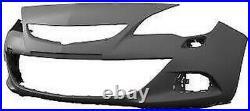 Plaque Pare-Chocs Avant Pour Opel Astra J 2012 IN Avant GTC Avec Trous Lavafaro