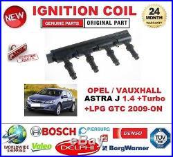 Pour Opel ASTRA J 1.4 +Turbo + LPG GTC à partir de 2009 BOBINE D'ALLUMAGE unité