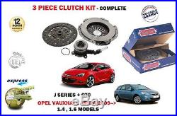 Pour Opel ASTRA J + GTC A16XER Mark 6 2009- KIT EMBRAYAGE + CYLINDRE RÉCEPTEUR