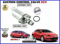 Pour Opel Astra + GTC 1.7CDTI 2011- Neuf Ventouse Valve Contrôle Scv