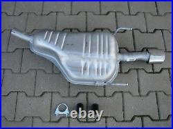 Pour Opel Astra H 1.4i 1.6i 1.8i 16V et GTC echappement silencieux arriere F044
