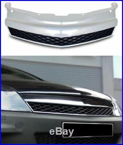 Pour Opel Astra H GTC Calandre Sport Grill Rayon Grille OPC Regardez Chrome Noir