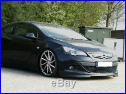 Pour Opel Astra J GTC 2012 Pare-Choc avant Coupe Jupe Bas Spoiler Menton Fendeur