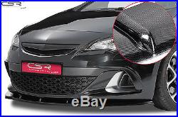 RAJOUT DE PARE CHOC JUPE AVANT Carbon Look für Opel Astra J OPC/GTC CSL130-C