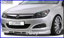 RDX Frontspoiler OPEL Astra H GTC Spoiler Lippe Ansatz Front Vorne PUR ABS