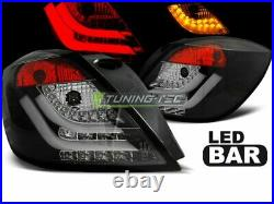 Rückleuchten pour Opel ASTRA H 2004-2009 3D GTC Schwarz LED FR LDOP51EP XINO FR