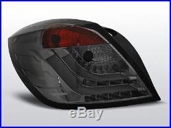 Stopuri pentru GTC de fum Opel Astra H 04-09 3D LED XLDOP50PL XINO TUNING